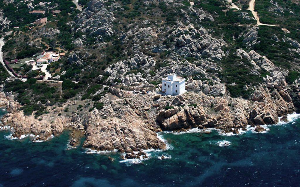 Il faro di Punta Sardegna
